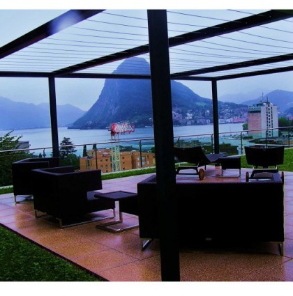 Apartment with splendid lake view in Castagnola