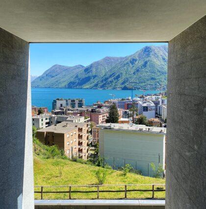 Appartamento 3 ½ locali vista lago a Loreto