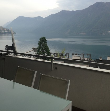 Centrally located apartment on the Lake of Lugano