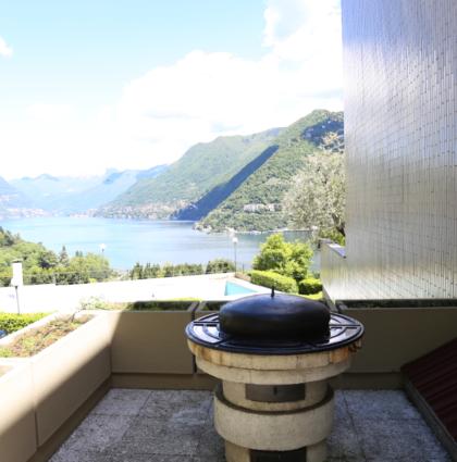 4.5 Zimmer mit Seesicht, Como Italie