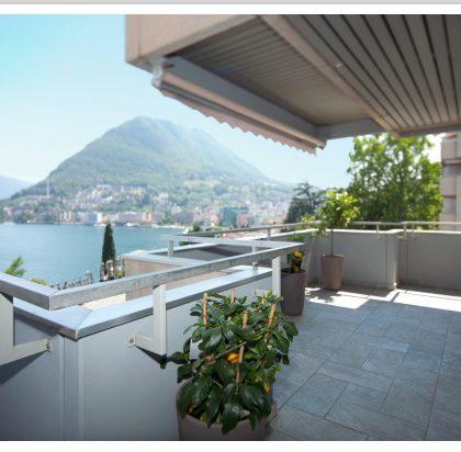 Repräsentative Wohnung in Lugano Central Park