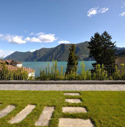 Appartamento di lusso con vista lago in villa d'epoca