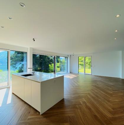 Appartamento con giardino in Nuova Residenza – Ponte Tresa
