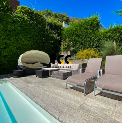 Villa con piscina unifamiliare a Breganzona